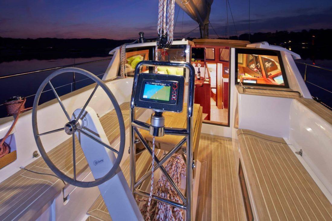 Sirius 40 DS cockpit