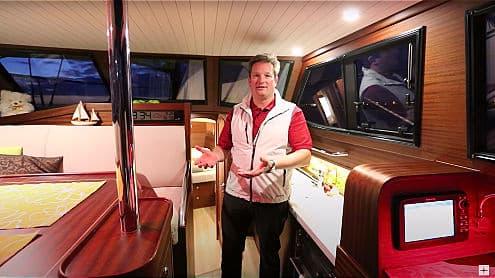 Video Sirius 35 DS - interior tour