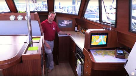 Video - Sirius 40 DS - galley