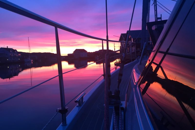 Sirius Yachts - deck saloons give you a better view