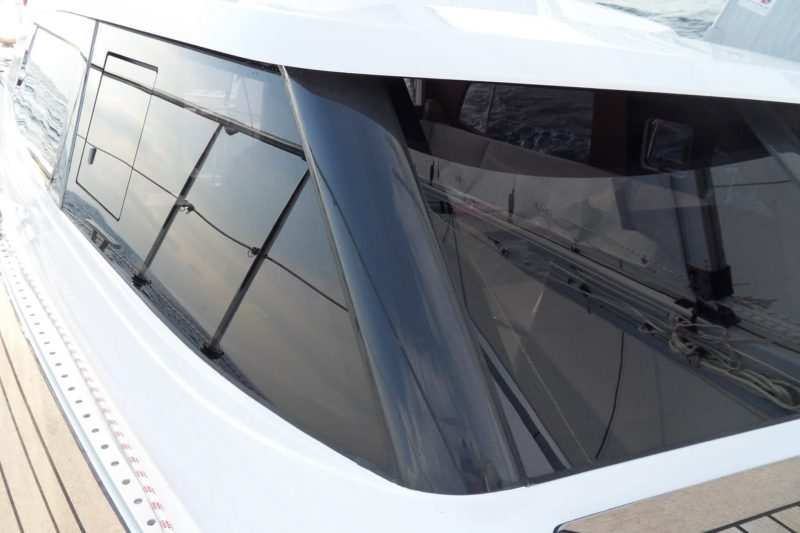 Sirius Yachts - Our deck saloon windows are made from toughened security glass