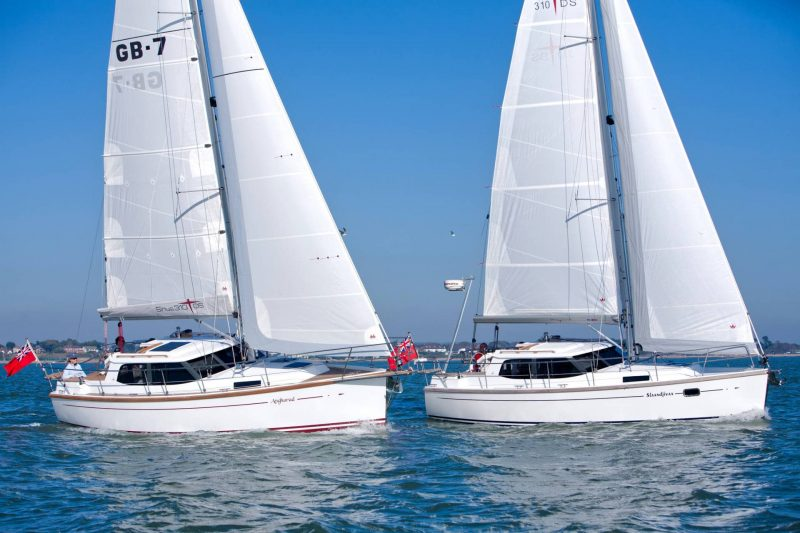 Sirius Yachts - Most circumnavigations in Sirius Yachts have been made with twin-keel or shallow fin keel