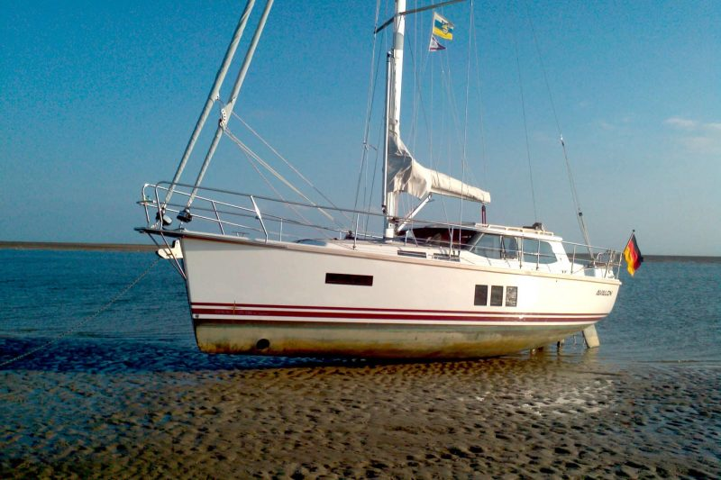 Sirius Yachts - drying out